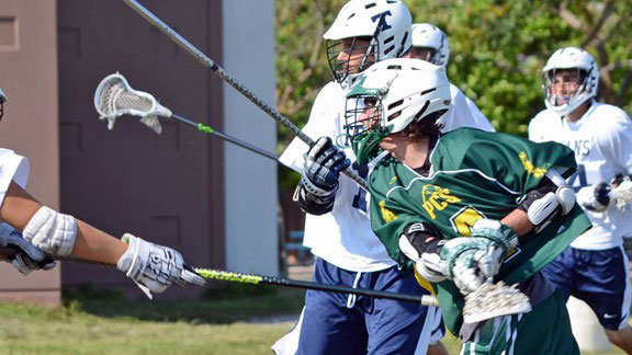 Harris Stolzenberg from Pine Crest (Fla.) is tied for the national record for most goals scored in a game.