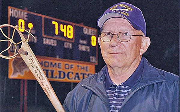 Mike Messere is the all-time wins leader in high school lacrosse.