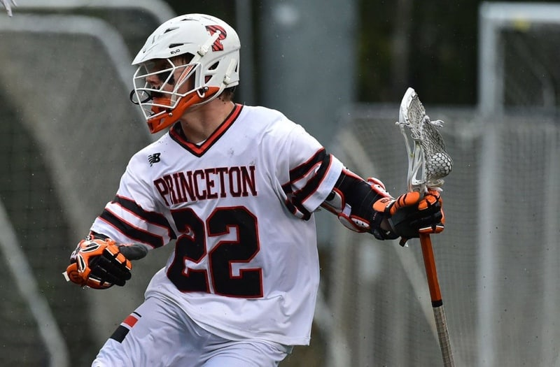 Michael Sowers set the high school record for most assists in a career. Photo courtesy: Princeton Athletics