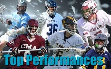 2014 Best Known Boys Lacrosse Performances