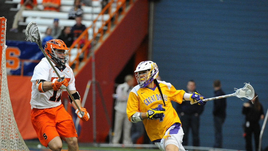 Lyle Thompson is one of the most prolific high school scorers in history. (Credit Syracuse Athletics).