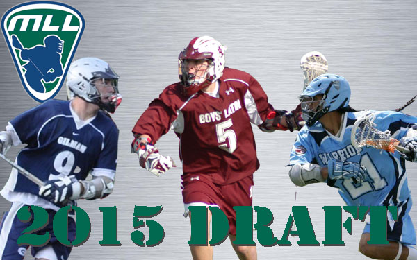 The 2015 Major League Lacrosse Draft was held in Baltimore, Md.