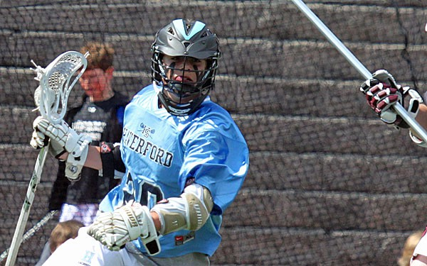 Grant Ament is a star player for Haverford School.