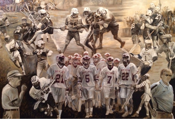 Get a piece of Boys' Latin (Md.) lacrosse history.