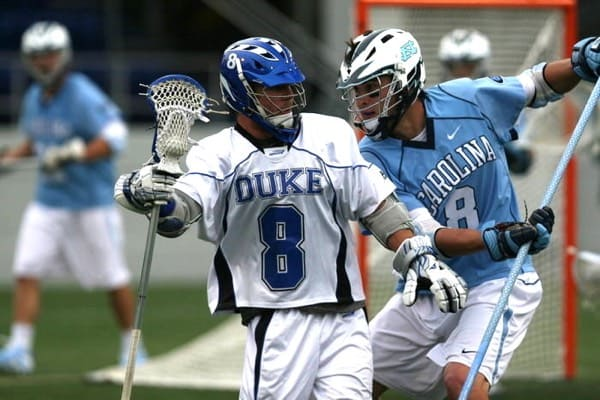 Max Quinzani from Duxbury high school lacrosse and Duke University.
