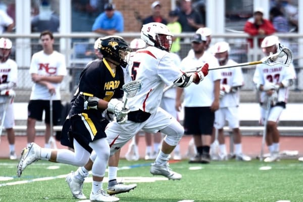 James Crovatto is a top high school lacrosse Defensemen.