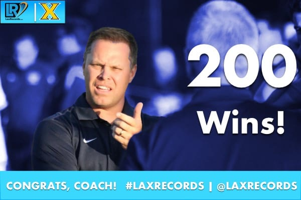 Xaverian Brothers Head Coach Tim Gardner won his 200th career game on April 7.