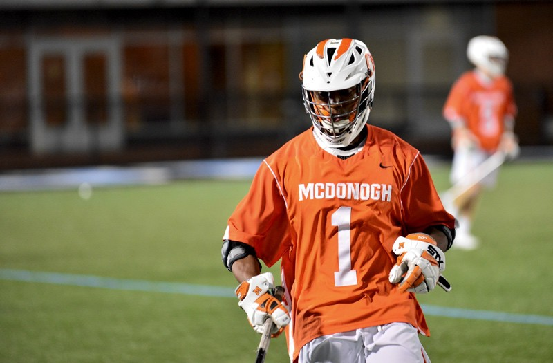 BJ Farrare from McDonogh was chosen to the Baltimore Under Armour Underclass team.