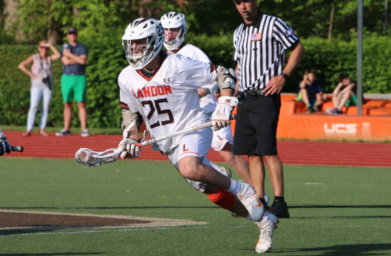 Justin Shockey won 79.3 percent of face-offs this season en route to LaxRecords.com's Player of the Year.