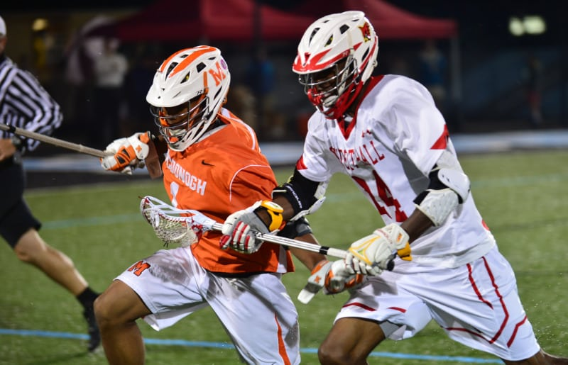 Calvert Hall (Md.) and McDonogh (Md.) played one of the best games of 2017.