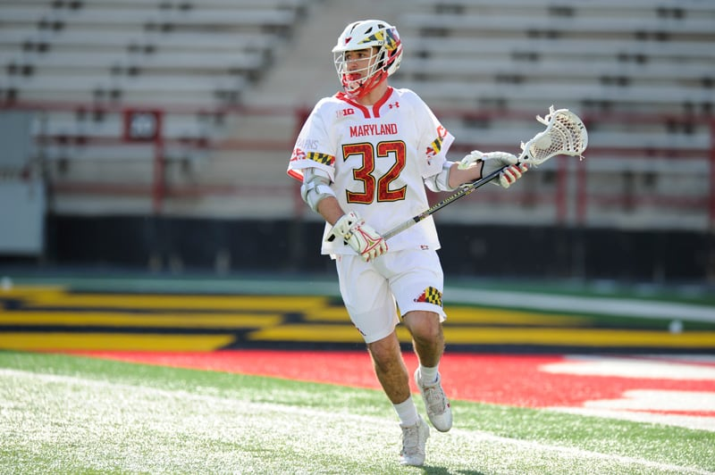 Louis Dubick is the all-time scoring leader in Maryland high school lacrosse. Photo by: Maryland athletics