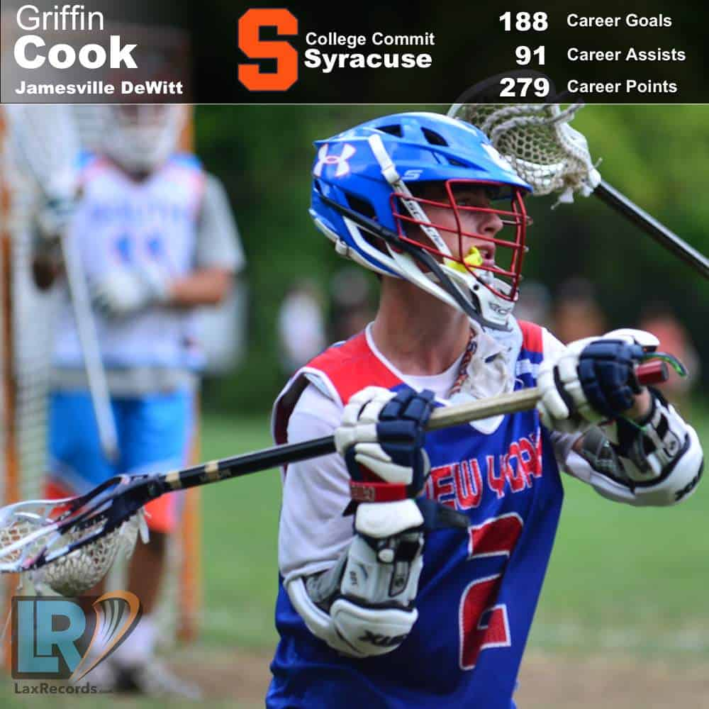 Griffin Cook from Jamesville-DeWitt (N.Y.)