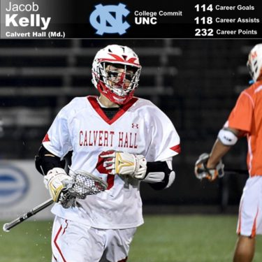 Jacob Kelly from Calvert Hall (Md.).