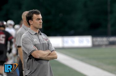 Loyola-Blakefield (Md.) head coach Ben Rubeor. Photo by Mike Loveday