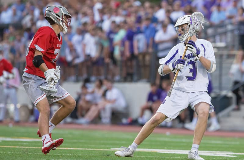 Kyle Borda from Gonzaga (D.C.). Photo by Gonzaga Lacrosse