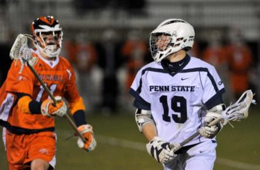 Chris Hogan played lacrosse at Penn State and Ramapo High School (N.J.). Photo credit: Mark Selders/Penn State Athletics