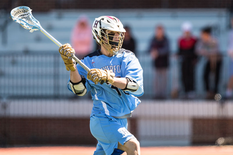 Peter Garno from Haverford School (Pa.).