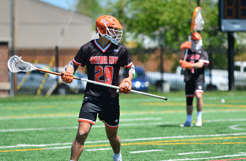 Brother Rice (Mich.) started the 2019 season with an impressive win. Photo by Mike Loveday