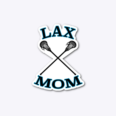 lacrosse mom sticker