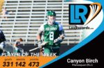 Canyon Birch earns LaxRecords.com Player of the Week after becoming New Jersey's all-time leading scorer.