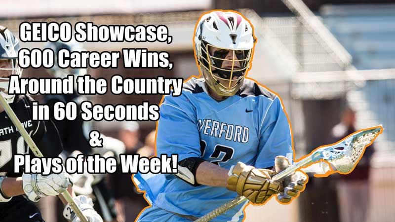 The GEICO Lacrosse showcase gets previewed in this episode of This Week in Lacrosse.
