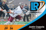 Justin Coppola from Garden City (N.Y.) earns LaxRecords Player of the Week. Photo courtesy Garden City news