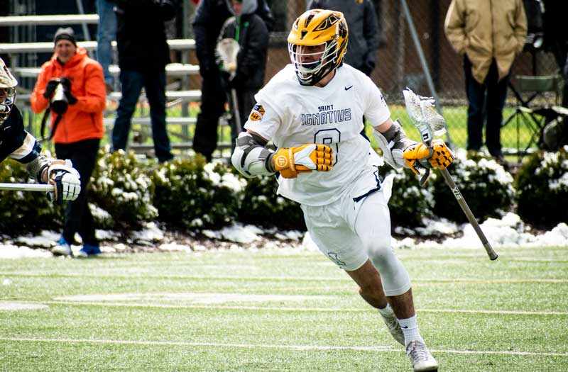 Jack Welsch from St. Ignatius (Ohio.).