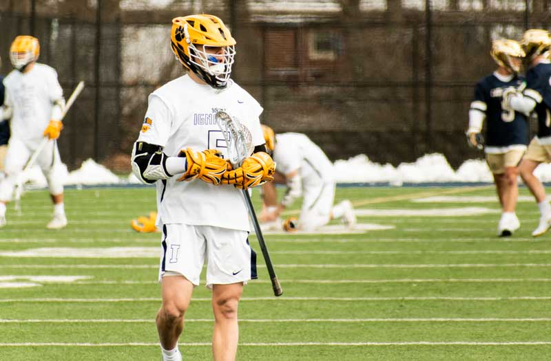 Michael Boehm became St. Ignatius' all-time scoring leader as a junior. Photo by Mike Loveday