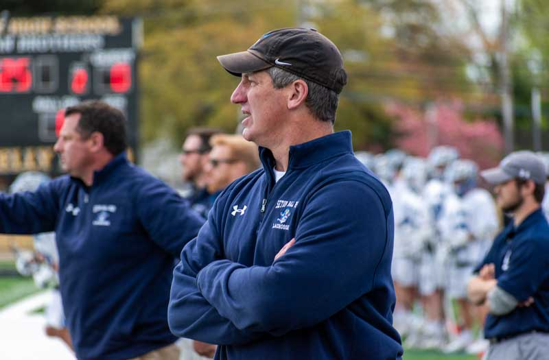 David Giarrusso is one of several offseason coaching changes after the 2019 season. Photo by Mike Loveday
