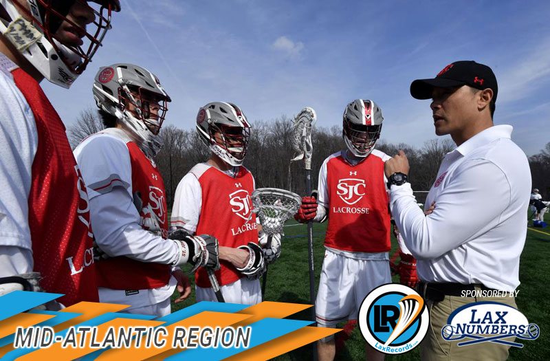 The LaxRecords.com Region Notebook is sponsored by [Laxnumbers.com](https://www.laxnumbers.com/index.php), the leader in high school lacrosse rankings.