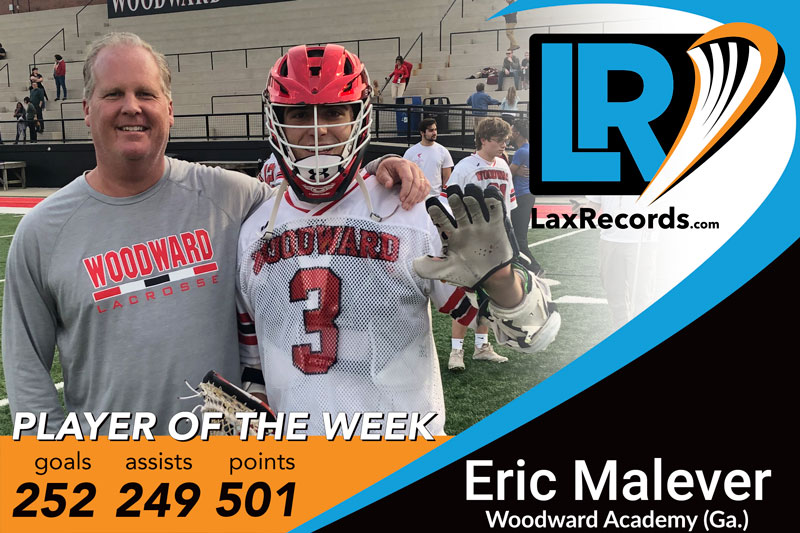 Player of the Week: Eric Malever from Woodward Academy (Ga.)