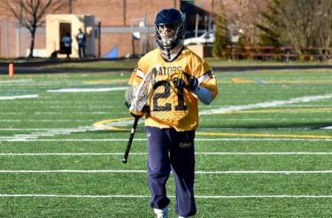 Colin Kurcoba from Perry Hall finished his high school lacrosse career with 546 career saves.