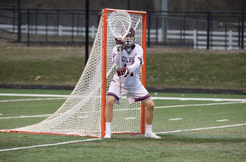 Culver Academy Goalie Colin Vickrey Discusses Notre Dame Commitment