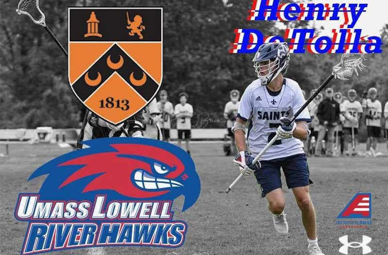 Henry De Tolla, a Class of 2021 defenseman from Kimball Union Academy (N.H.), discusses what drew him to UMass-Lowell.
