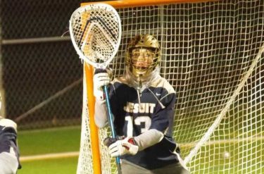 Stony Brook picked up a verbal commitment from Dallas Jesuit 2022 goalie Connor Knight.