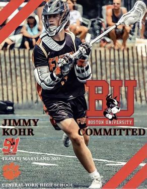 Jimmy Kohr from Central York Class of 2022 Attackman – Lacrosse Profile